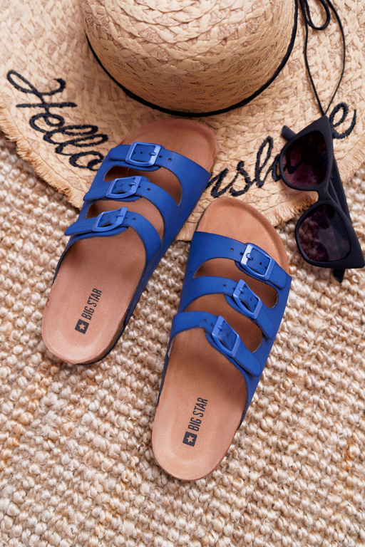 Navy Blue Slides