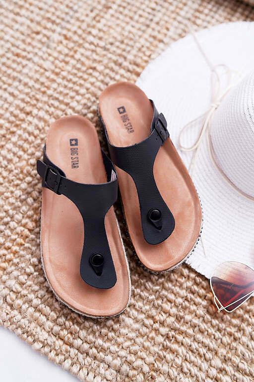 Flip-Flops - White/Red/Black