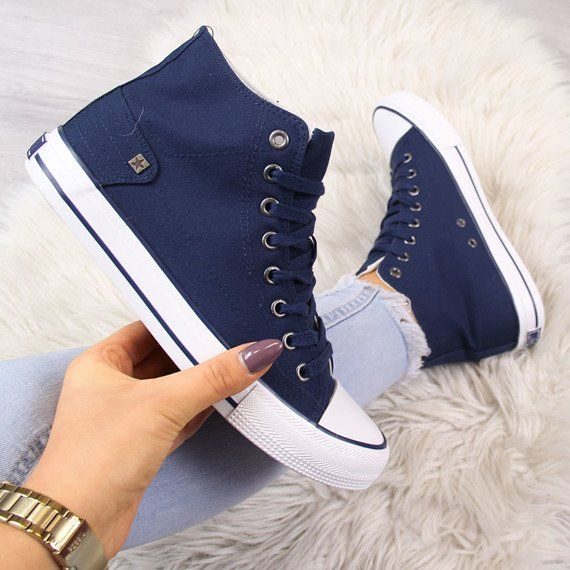 Ancle Trainers Navy